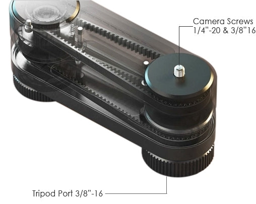 double length camera slider