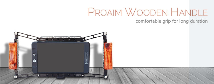 Proaim Wooden Handle For Director Monitor Cage