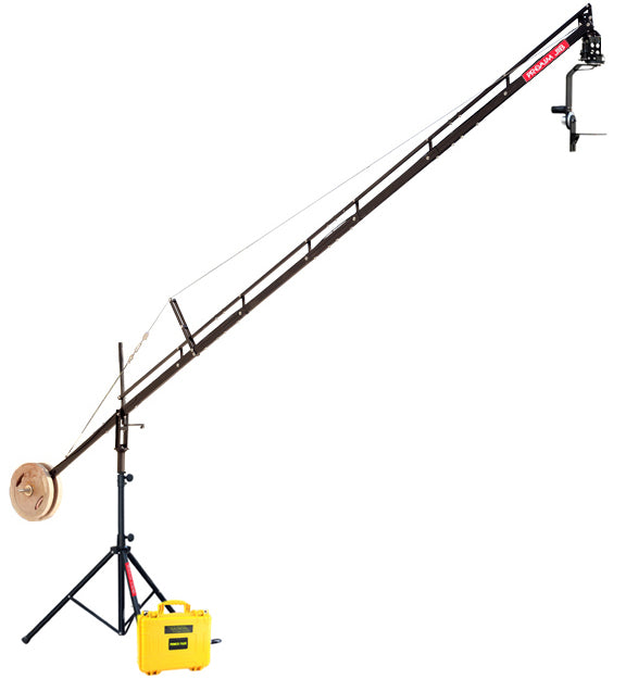 Proaim 18ft Camera Crane  with Sr. Pan and Tilt Head & Tripod Stand
