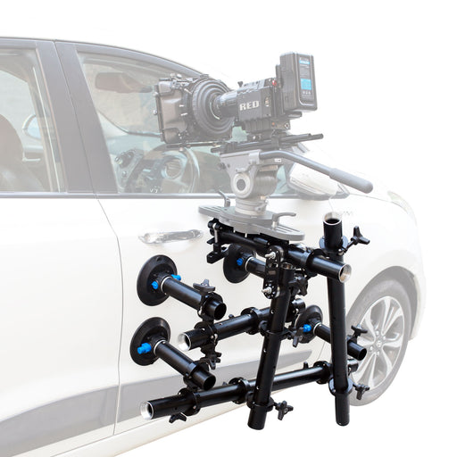 Proaim Action-Grip Tubular Car Mount for Camera Gimbals