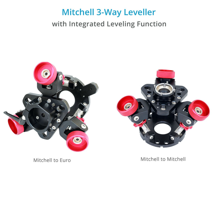Proaim 3-Way Leveller – Mitchell to Mitchell/Euro Base