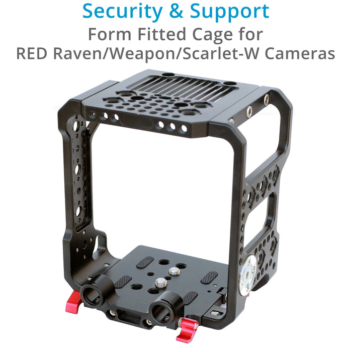 Proaim Muffle Cage for RED RAVEN/WEAPON/SCARLET-W Camera