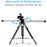 Proaim Cambird Pro 6ft Camera Slider Portable Jib