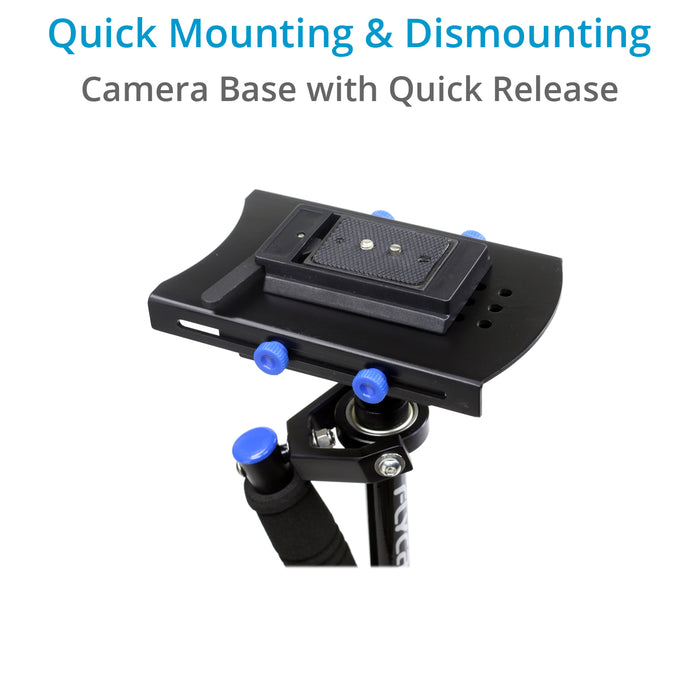 FLYCAM DSLR Nano Blue Steady Cam Stabilizer
