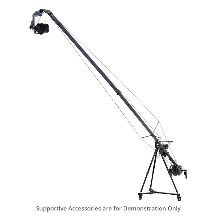 Proaim 6m/20ft Fraser Traveller Camera Jib Crane, Tripod Dolly