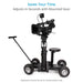 Proaim Bull Telescopic Gas Lift Bazooka for Camera Dolly