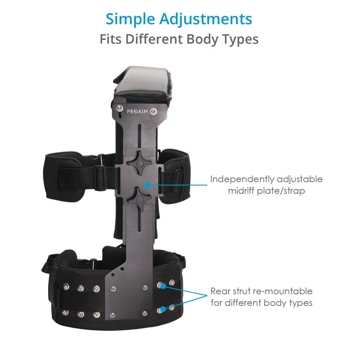 Proaim Gladiator Ergonomic Body Support Camera Rig