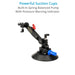 Proaim Gripmax Vibration Isolator Suction Car Mount