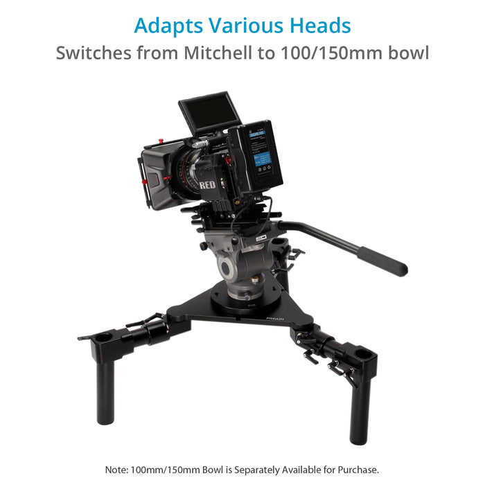 Proaim Mitchell Tri-Hat (Scaffold Hi-Hat) Versatile Camera Support