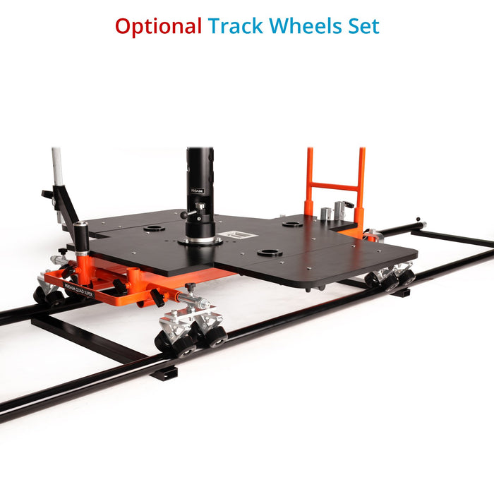 Proaim Quad Super Film Camera Doorway Dolly | Rear-Wheel Steering