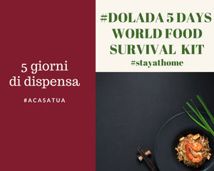 MENU 5 GIORNI: World Food Kit (x 4 persone)