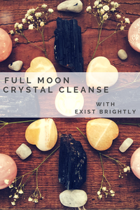 October Full Moon Crystal Cleanse