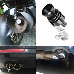 FERRARI STYLED EXHAUST PIPE OVERSIZED ROAR MAKER(CARS AND MOTORCYCLES)