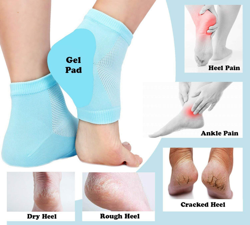 Moisturizing  Anti heel crack set socks ( 1 Pair)
