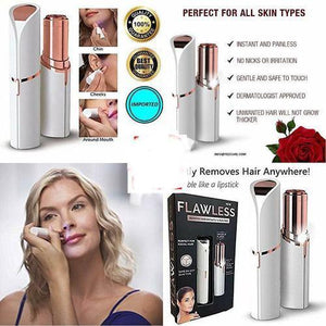 Flawless Finishing Touch Instant Painless Facial Hair Remover Women Shaver