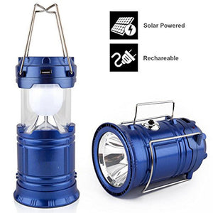 LED Solar Rechargeable 69 W Torch Light Emergency Lamp