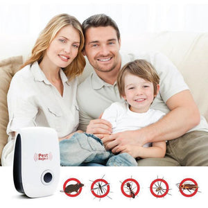 ULTRASONIC PEST REPELLENT MACHINE (BUY 1 GET 1 FREE)