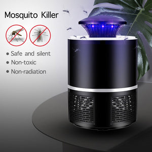 LED Mosquito Killer Lamp Bug Zapper UV USB Powered