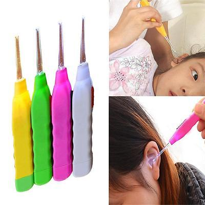 Safety Ear Cleaner Ear Pick Wax Remover Earpick  With Flash Light