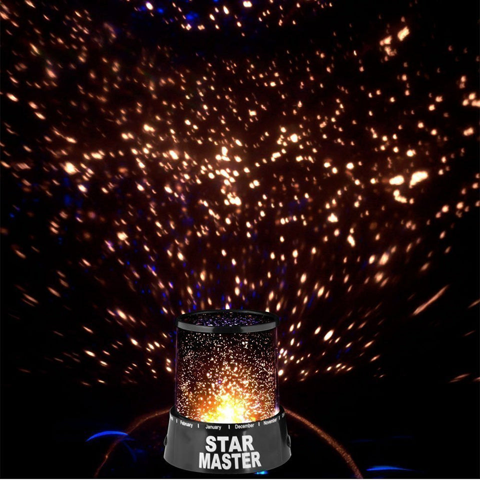 Star Master Projector With Usb Wire Turn Any Room Into A Starry Sky