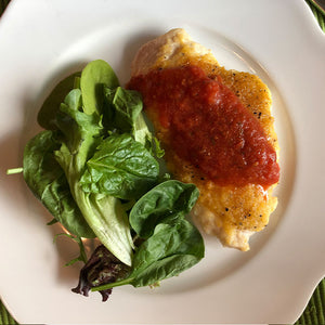 Baked Chicken Parmesan (Healthy Selection)