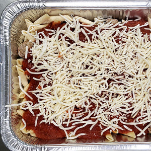 Baked Meatballs with Penne
