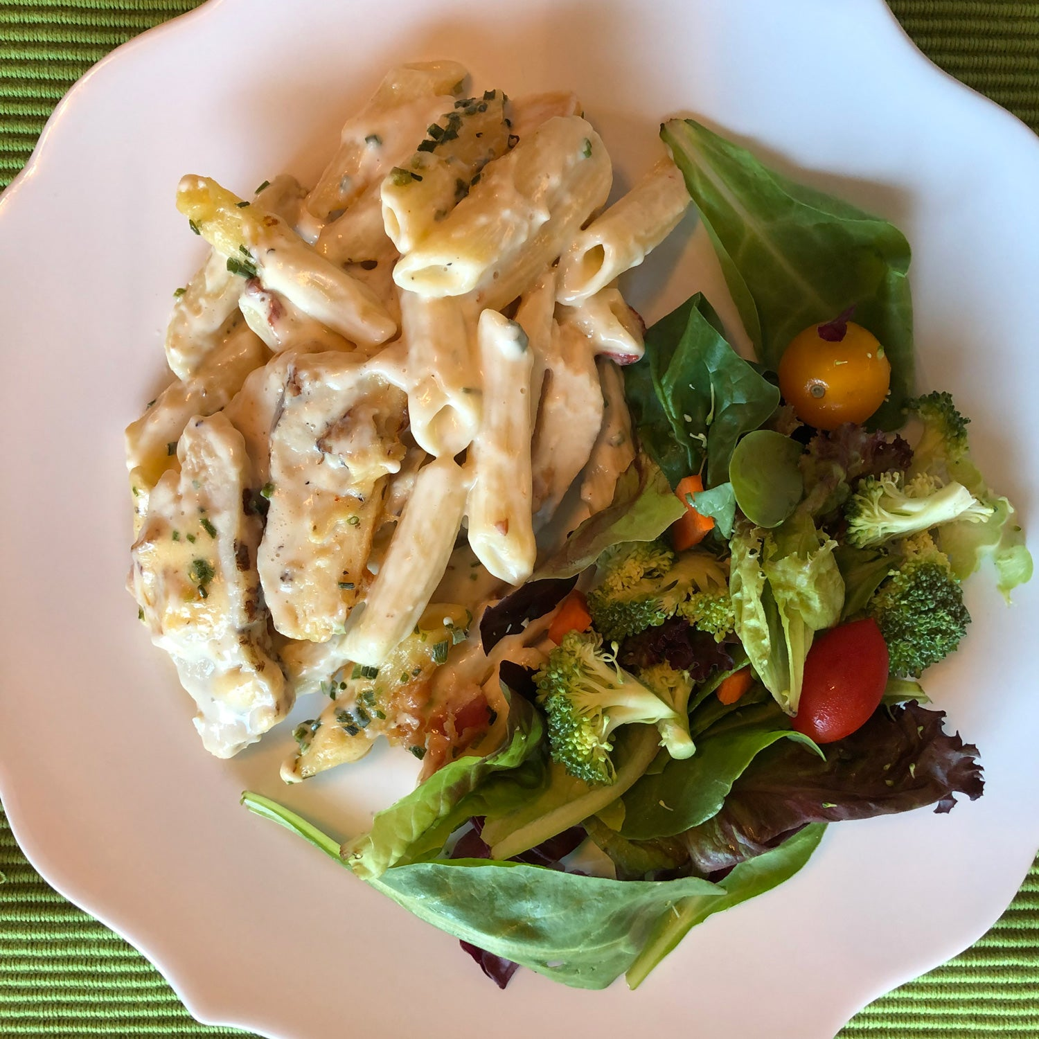 Gail's Grilled Chicken & Chipotle Penne Pasta