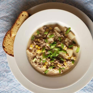 Hearty Beef & Potato Chowder