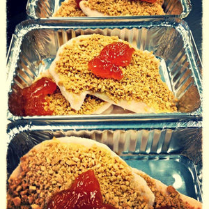 Peanut Crusted Apricot Chicken (Healthy Selection/Soy, Gluten, & Dairy Free)
