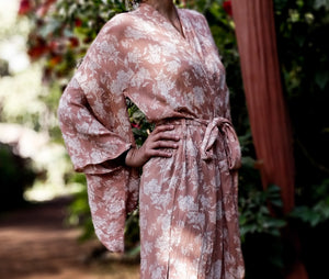 The Goa Robe, Powder Pink (Short)