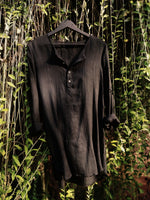 The Anjuna Shirt, Black