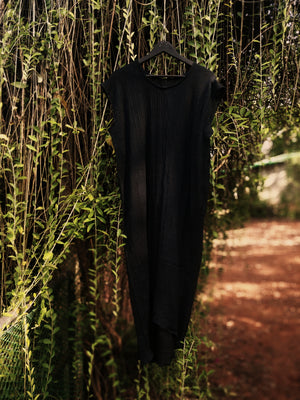 The Mandrem Kaftan, Black