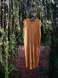 The Mandrem Kaftan, Sunflower Yellow