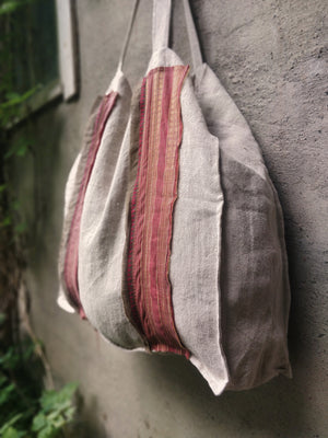 The Vintage Bag, Pink&Gray