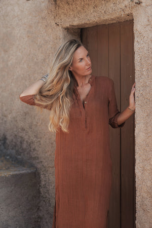 The Jaipur Dress, Rust