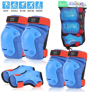 Kids Knee Pads Elbow Pads Protective Gear Set for Cycling Bicycle Skateboard Inline Skating Scooter Sports