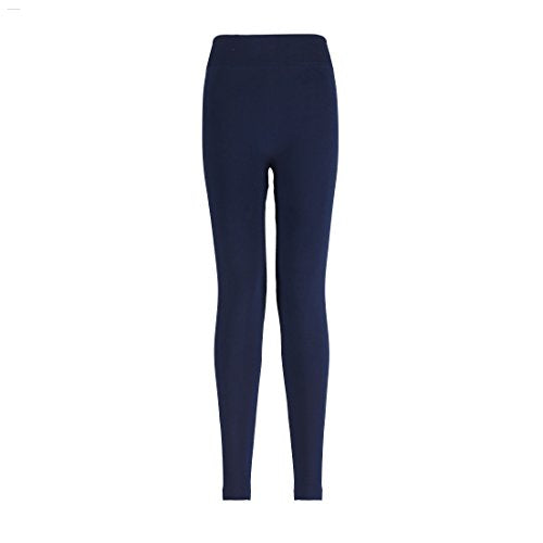 Opaque Control Top Seamless Leggings (Black, Navy Blue, Purple, Brown)