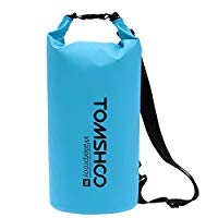 Load image into Gallery viewer, 10L/20L Waterproof Dry Bag, Roll Top Lightweight Dry Storage Bag with Phone Case&Adjustable Shoulder Straps for Kayaking, Rafting, Boating, Beach, Canoeing,Snowboarding