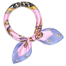 Load image into Gallery viewer, 100% mulberry silk scarf,Small silk scarfs, Silk neck scarfs, Silk neckerchief