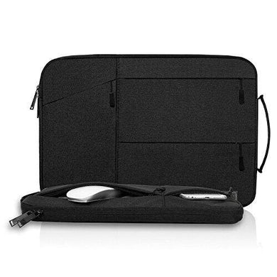 14-15 Inch Water Resistant Laptop Sleeve for MacBook Pro 15 Inch A1770 A1990, Lenovo Yoga920, HP Chromebook 4/Stream14,Acer Chromebook 14,14-15 Inch Laptop Chromebook Bag (Black)
