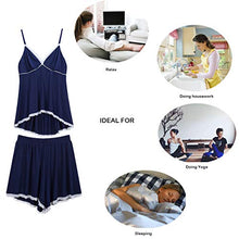 Load image into Gallery viewer, Pajamas for Women Set V Neck Sexy Nightgown Lace Hot Sleepwear Stretch