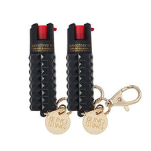 Load image into Gallery viewer, Pepper Spray Keychain for Women Professional Grade Maximum Strength OC Formula 1.4 Major Capsaicinoids 12 Ft Effective Range Accurate Stream Self-Defense Accessory Designed for Women