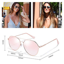 Load image into Gallery viewer, Classic Aviator Sunglasses for Women Men UV400 Sun Glasses Metal Frame Shades