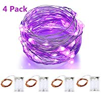 Load image into Gallery viewer, 10ft 30 LEDs Warm White Starry Starry Light String Light 3xAA Battery Powered Flexible Indoor String Lights Wedding Party Light
