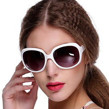Load image into Gallery viewer, Women's Retro Style Shades Oversized Designer Lens Outdoor Driving Sunglasses