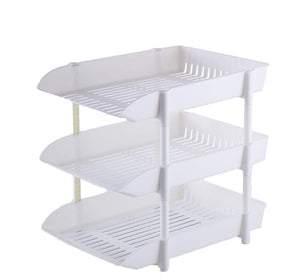 Three Tier Tray Stackable Organization for Letters Documents