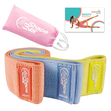 Resistance Bands for Legs and Butt, Booty Bands, Fabric Exercise Bands, Workout Bands, Non Slip Hip Bands, Elastic Bands for Exercise