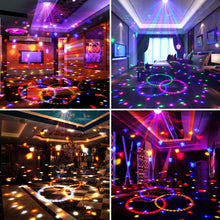 Load image into Gallery viewer, Disco Ball Party Lights,Sound Activated Disco Lights with Remote Control