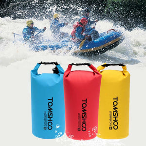 10L/20L Waterproof Dry Bag, Roll Top Lightweight Dry Storage Bag with Phone Case&Adjustable Shoulder Straps for Kayaking, Rafting, Boating, Beach, Canoeing,Snowboarding