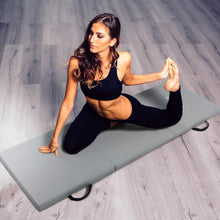 Load image into Gallery viewer, Gymnastic Mats Folding Exercise Mat Tri-Fold Tumbling Training Fitness Panel Gym Pad, Non-Slip